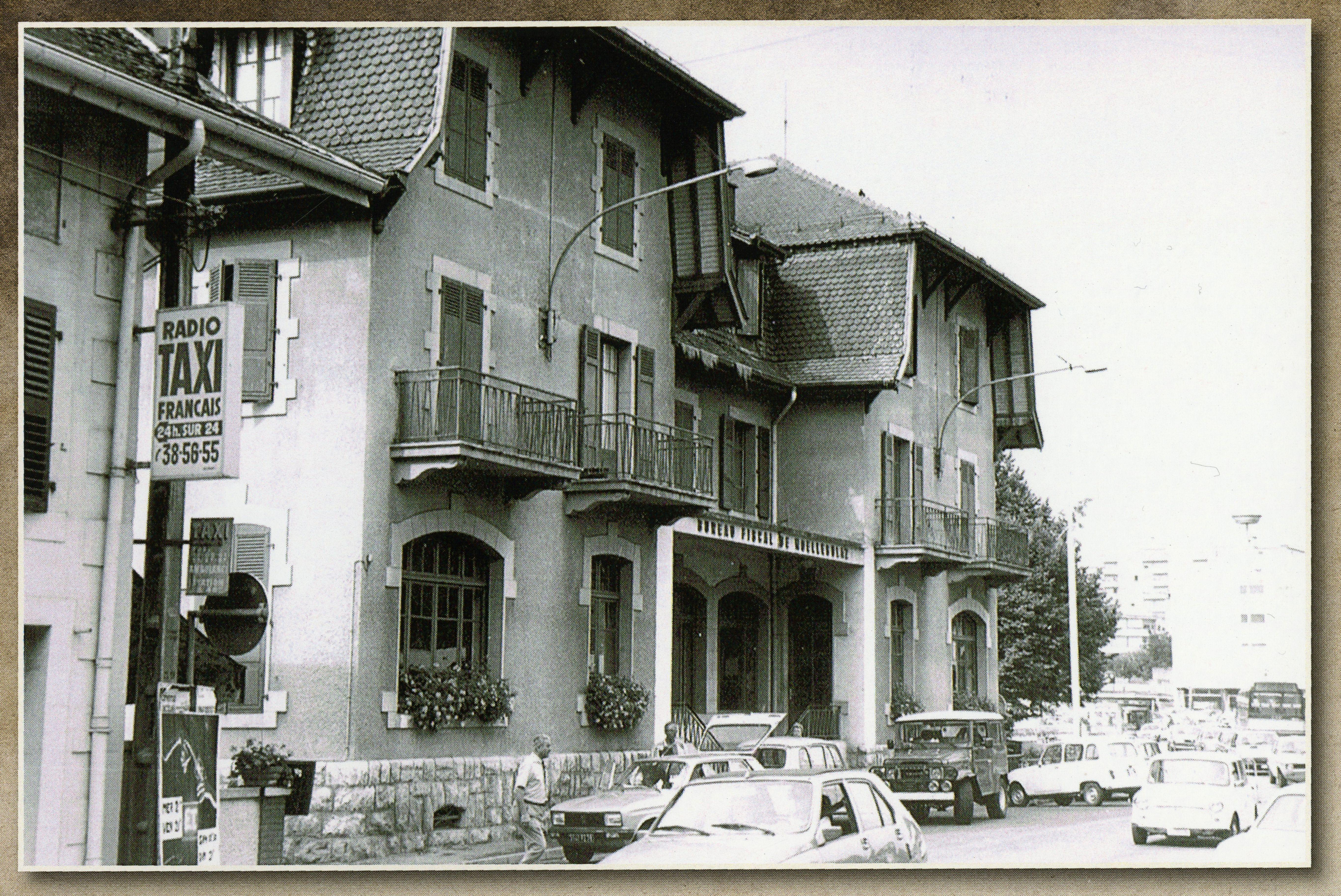 Ancienne douane de Moillesulaz