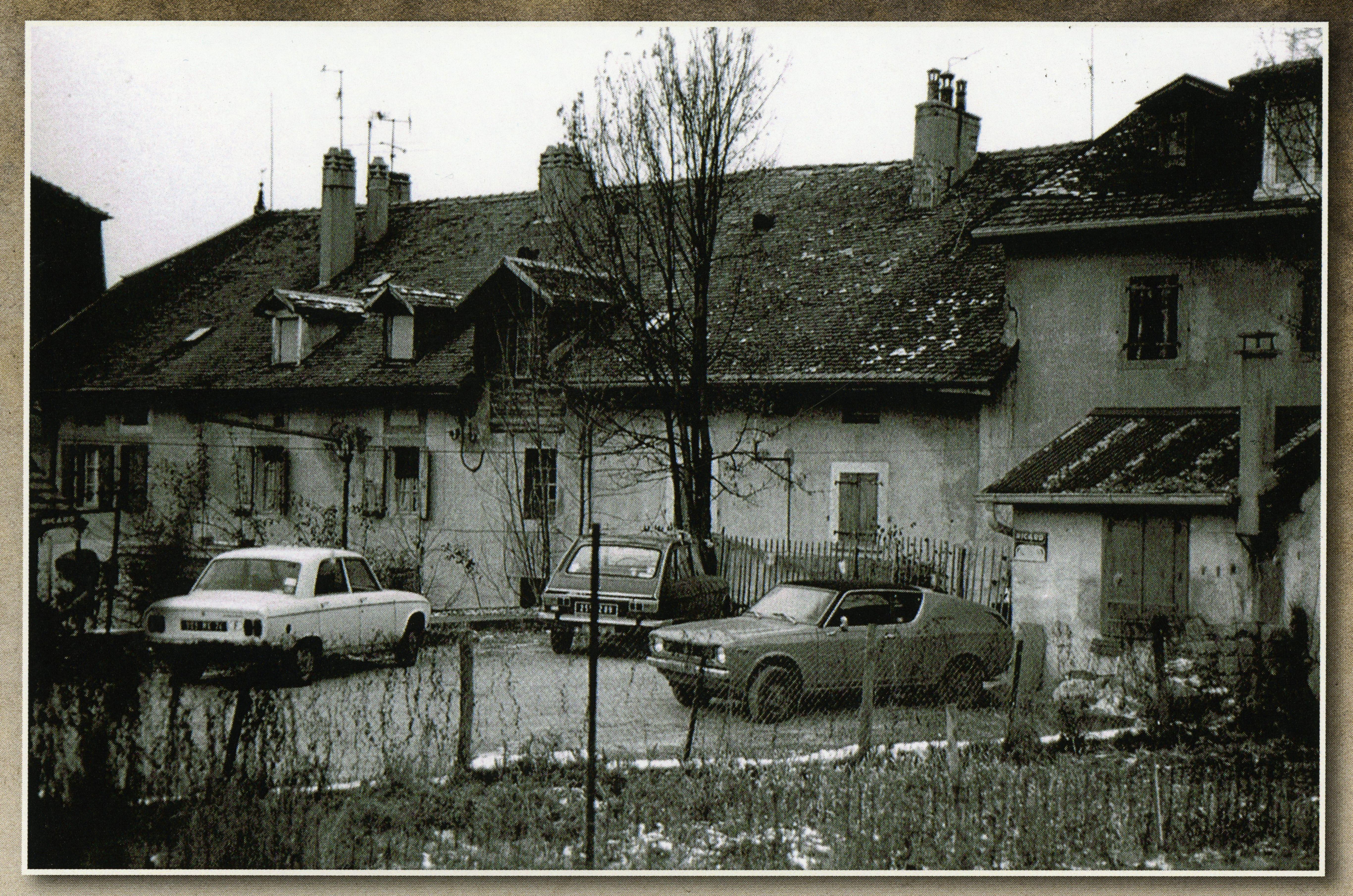 Arrière de la route de Genève, Moillesulaz, Gaillard