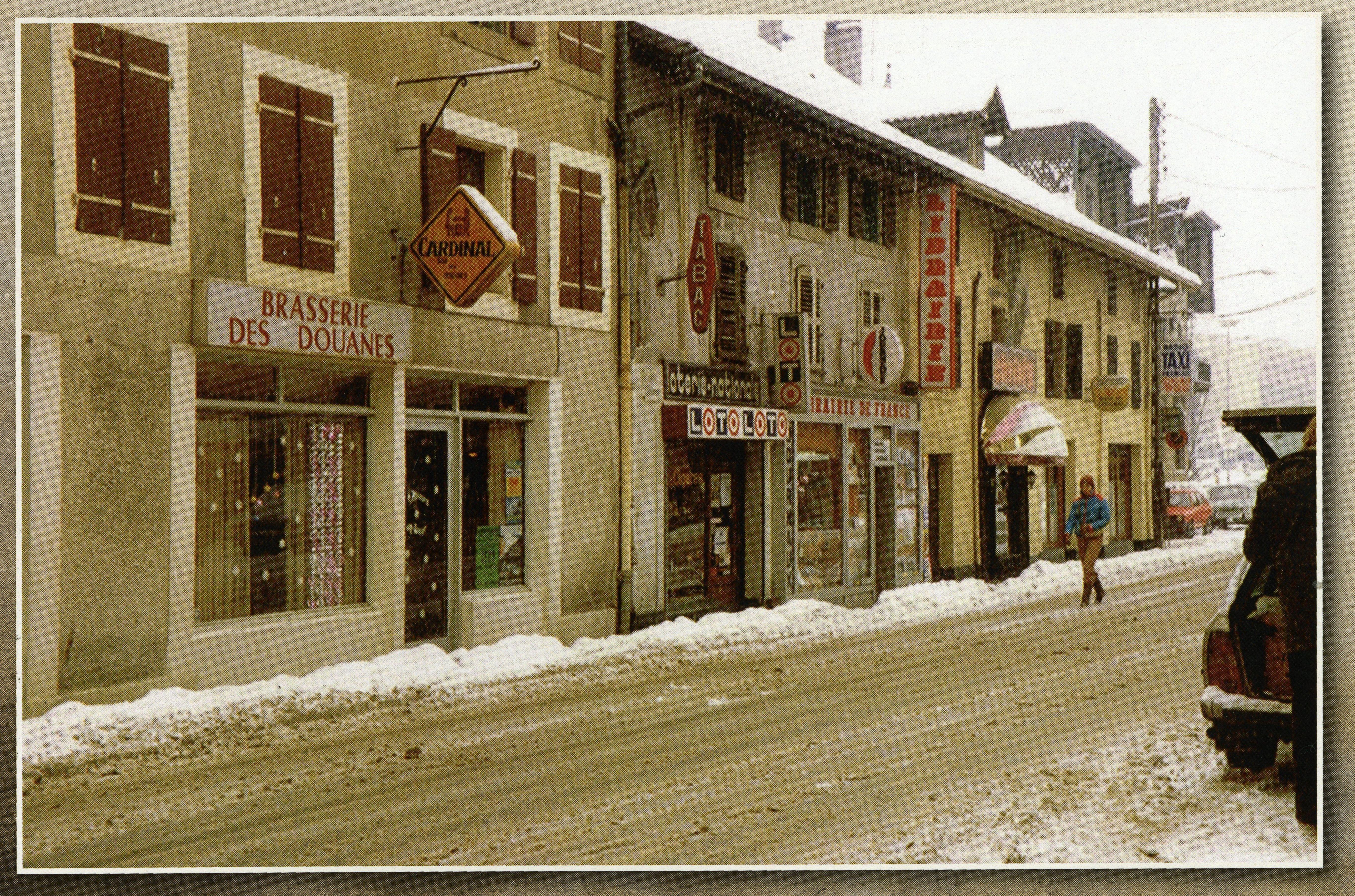 La Brasserie des douanes rue de Genève à Gaillard