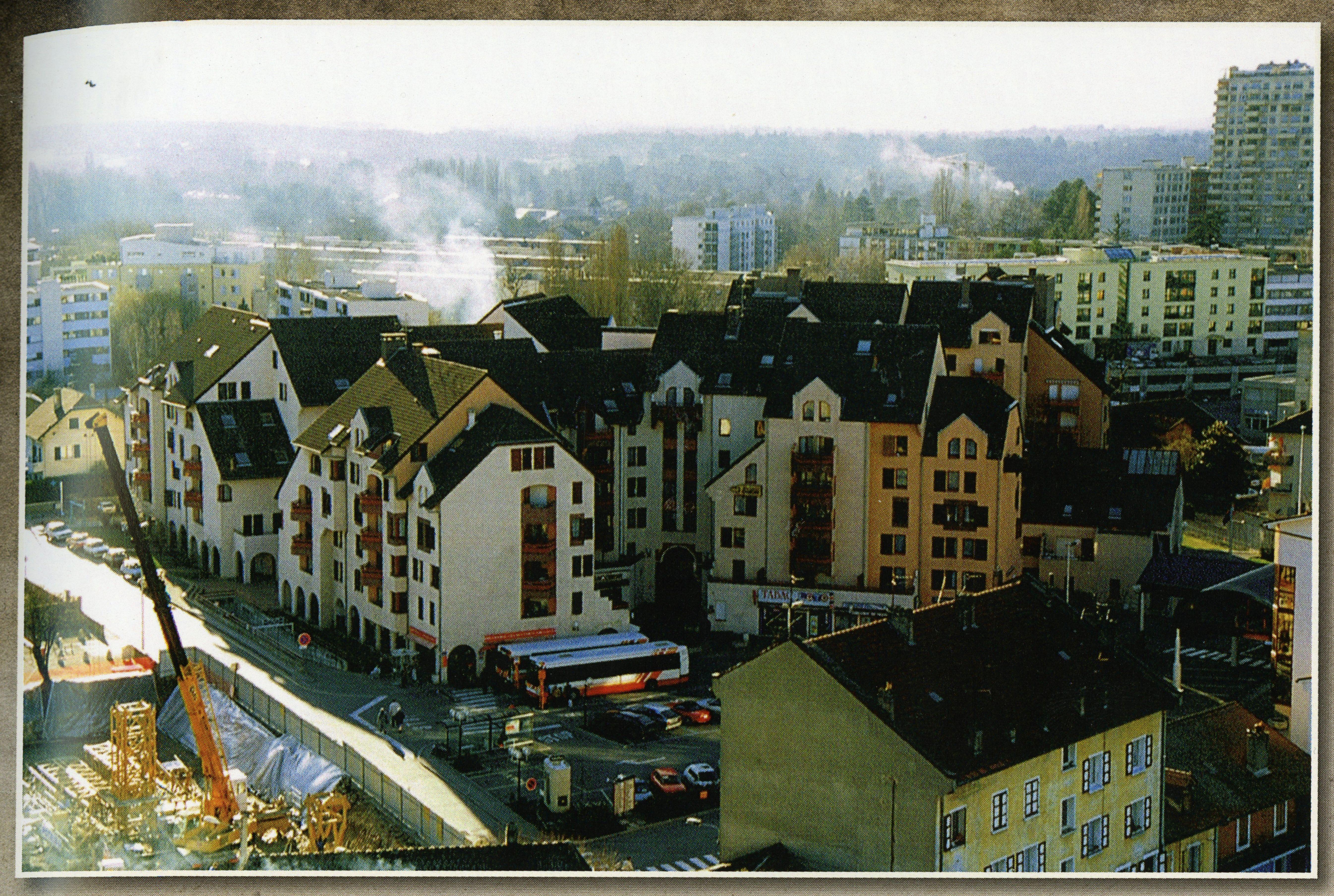 Nouveau quartier de la Porte de France – 1998