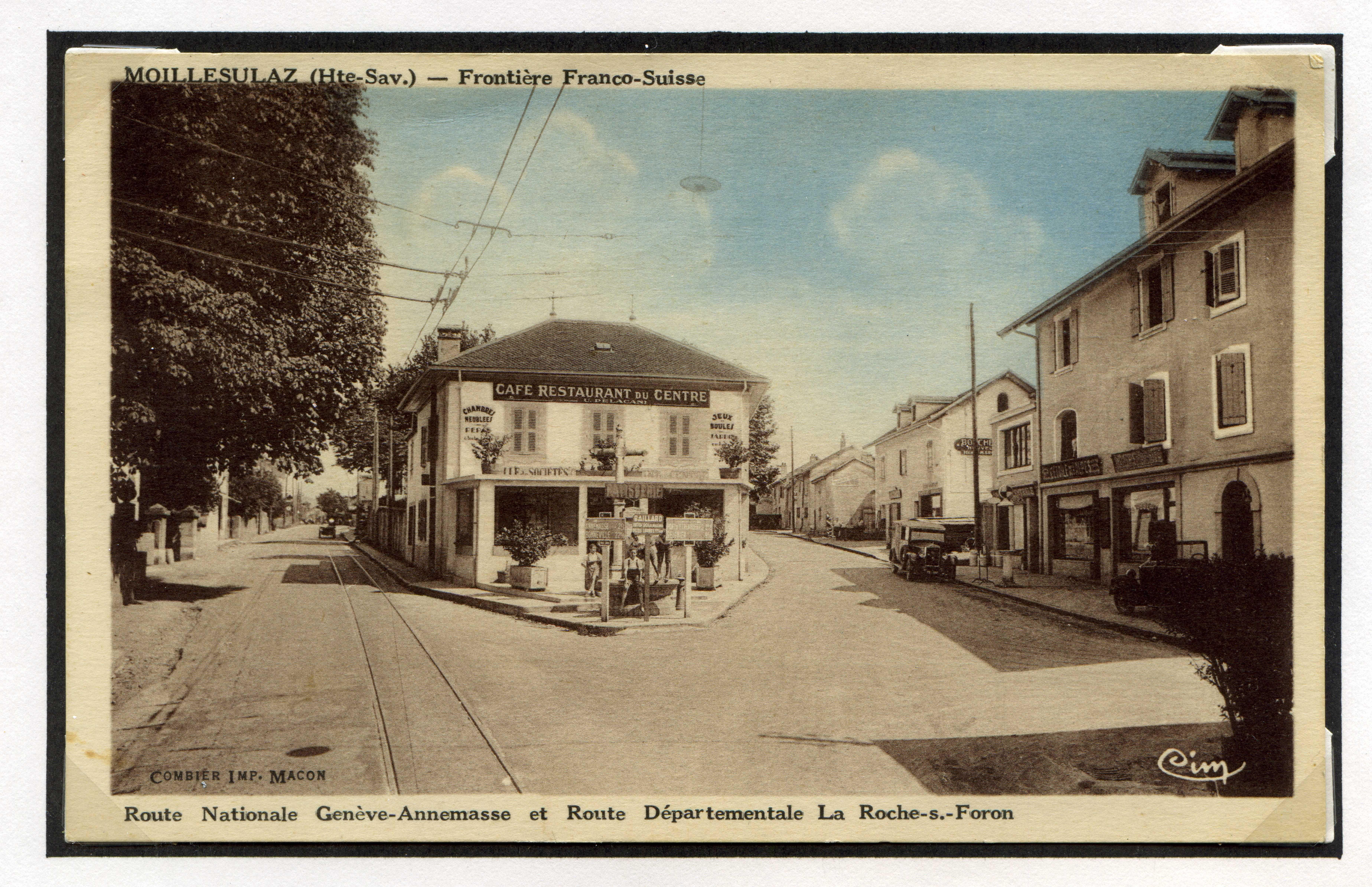 Route Nationale Genève – Annemasse et Route Départementale La Roche-s.-Foron