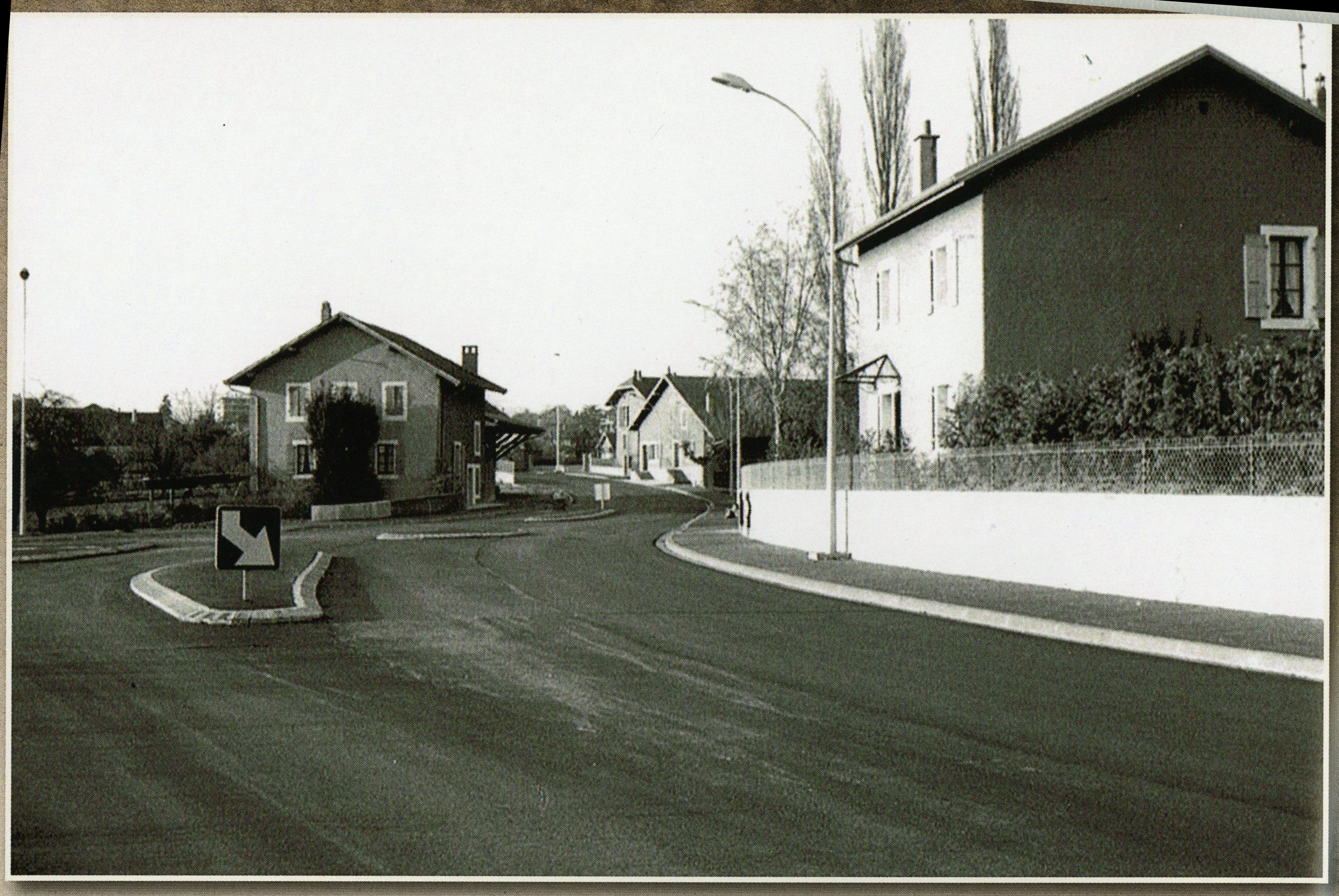 rue de l'Arve après travaux